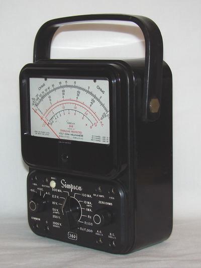 Simpson 260 Multimeter