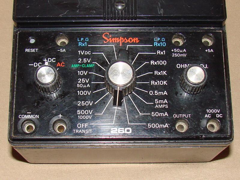 simpson 260 6xlpm adjustt schematic simpson