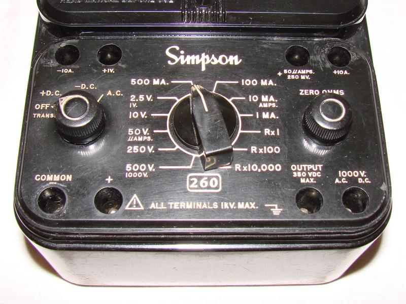 Simpson 260 Schematic – Home Exsplore on